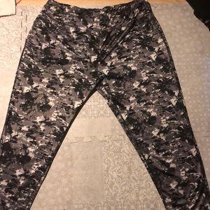 Grey workout pants